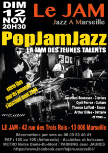 PopJamJazz 08 OCT 2017