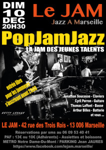 PopJamJazz 10 DEC 2017
