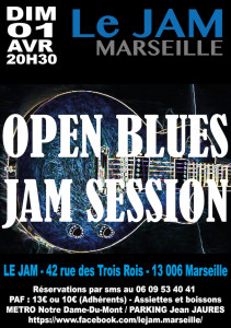 OPEN BLUES JAM SESSION 07 JAN
